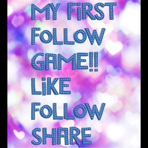 💗 My First Follow Game!! 💗